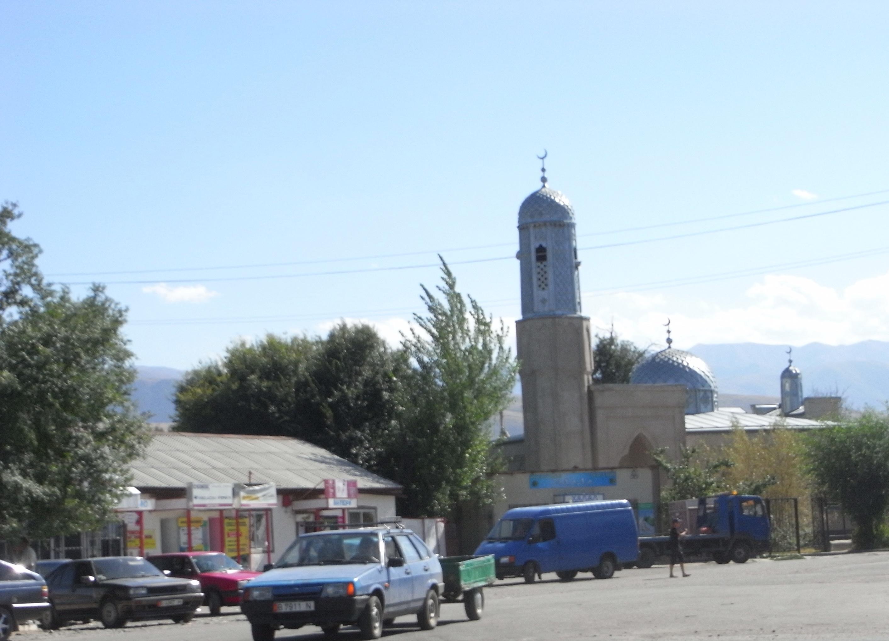meczet w Kirgistanie