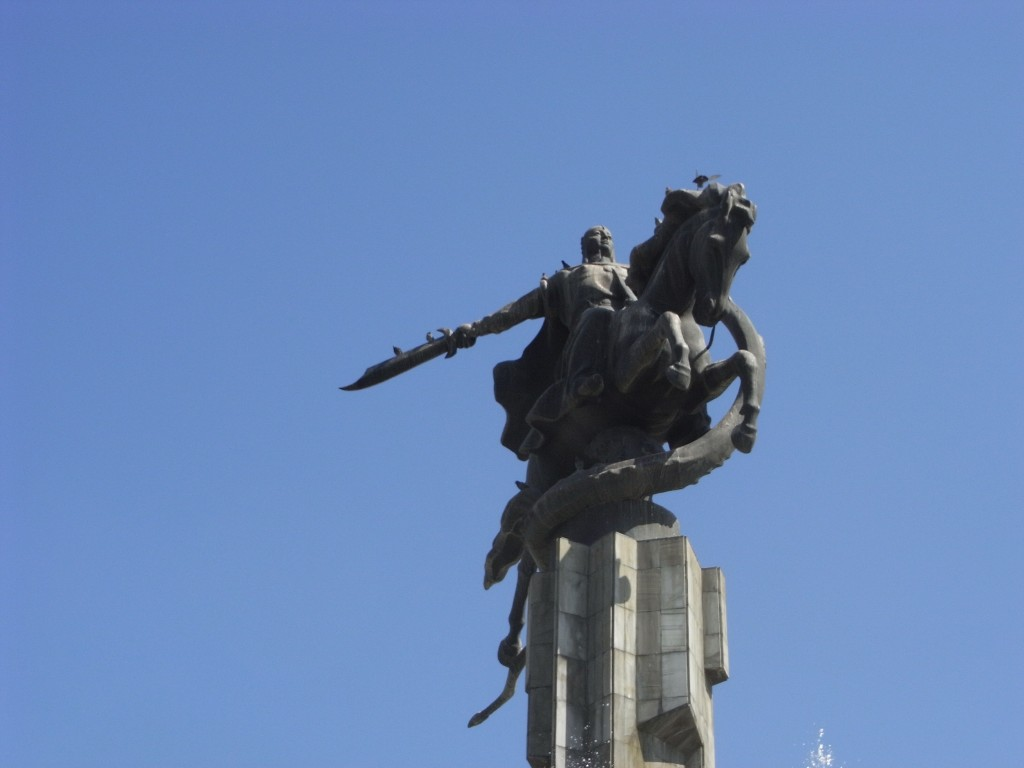 pomnik Manasa