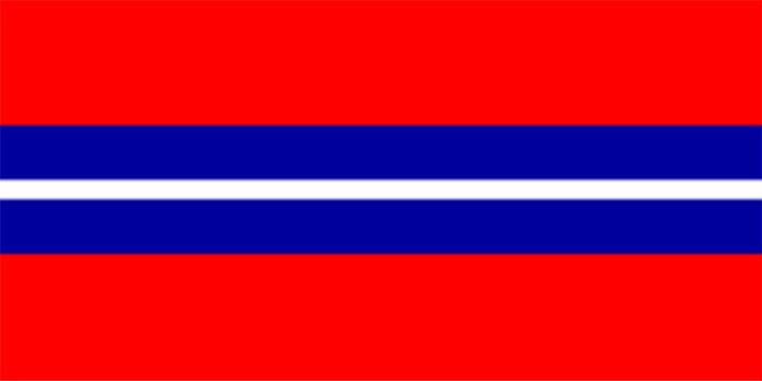 flaga Kirgiskiej SRR i Kirgistanu 1981-92