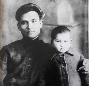 Ajtmatow z ojcem