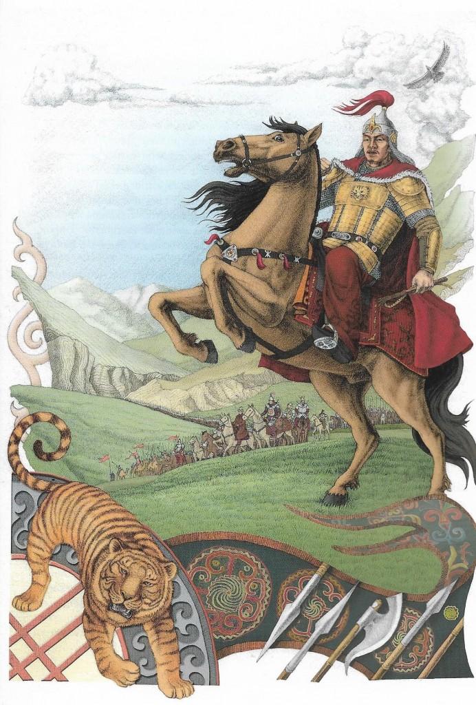 Manas i tygrys